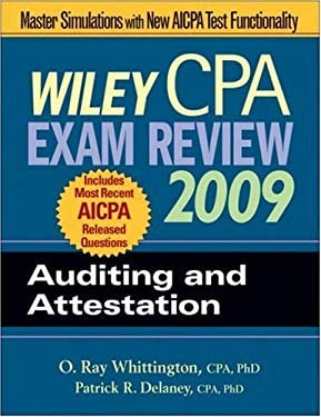 Wiley CPA Exam Review: Auditing and Attestation 9780470286012