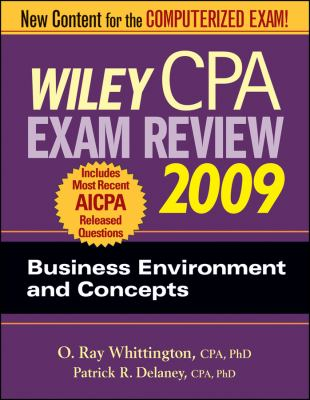 Wiley CPA Exam Review: Business Environment and Concepts 9780470286029