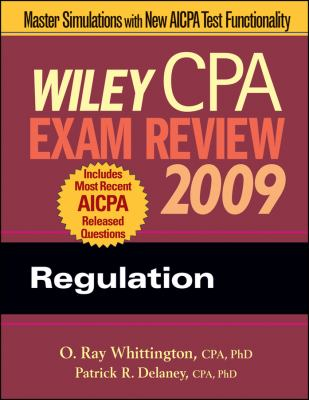 Wiley CPA Exam Review: Regulation 9780470286043