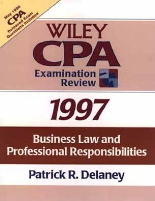 Wiley CPA Examination Review, 1997: Business Law 9780471162568