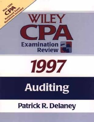 Wiley CPA Examination Review, 1997: Auditing 9780471162575