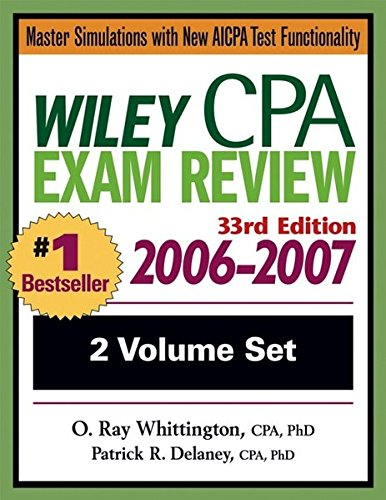 Wiley CPA Examination Review 2006-2007, Set 9780471726784