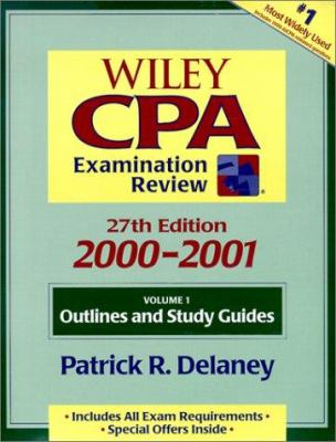 Wiley CPA Examination Review 2000-2001 9780471360858