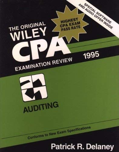 Wiley CPA Examination Review, Auditing 9780471056409
