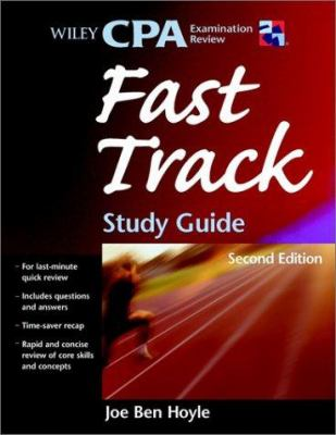 Wiley CPA Examination Review Fast Track Study Guide 9780471442837