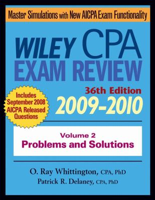 Wiley CPA Examination Review, Volume 2: Problems and Solutions 9780470453377