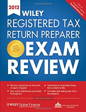 Wiley Registered Tax Return Preparer Exam Review 9780470905616