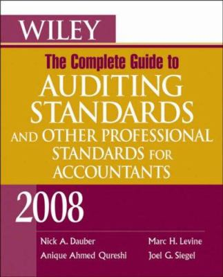 Wiley, the Complete Guide to Auditing Standards and Other Professional Standards for Accountants 9780470183977