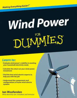 Wind Power for Dummies 9780470496374