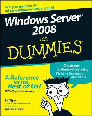 Windows Server 2008 for Dummies 9780470180433