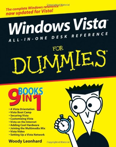 Windows Vista All-In-One Desk Reference for Dummies 9780471749417