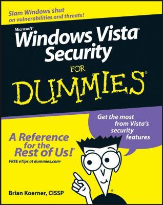 Windows Vista Security for Dummies 9780470118054