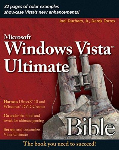 Windows Vista Ultimate Bible 9780470097137