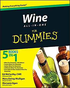 Wine All-In-One for Dummies 9780470476260