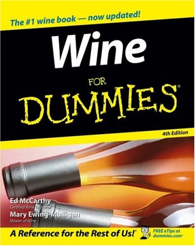 Wine for Dummies 9780470045794