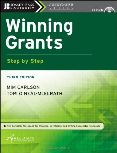 Winning Grants Step by Step 9780470286371