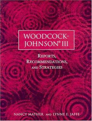 Woodcock-Johnson III by Mather
