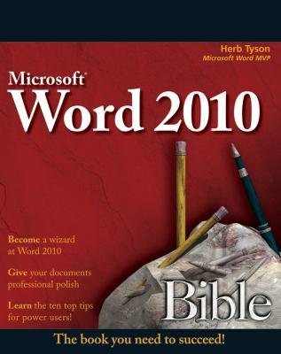 Word 2010 Bible 9780470591840