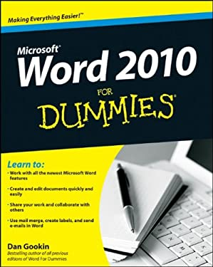 Word 2010 for Dummies 9780470487723
