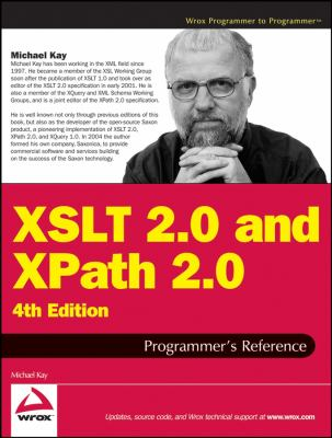 XSLT 2.0 and XPath 2.0 Programmer's Reference 9780470192740