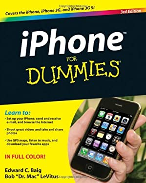 iPhone for Dummies 9780470536988