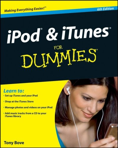 iPod & iTunes for Dummies 9780470390627