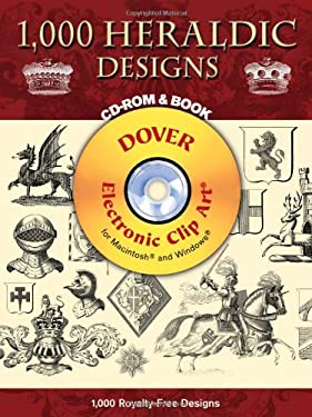 1,000 Heraldic Designs [With CDROM] 9780486997629