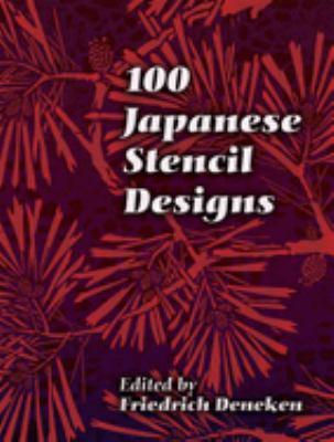 100 Japanese Stencil Designs 9780486447247