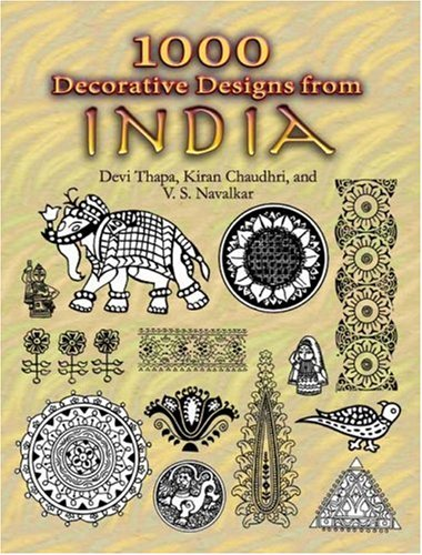 1000 Decorative Designs from India 9780486460406