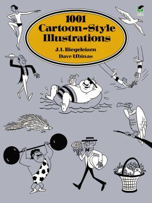 1001 Cartoon-Style Illustrations 9780486290478