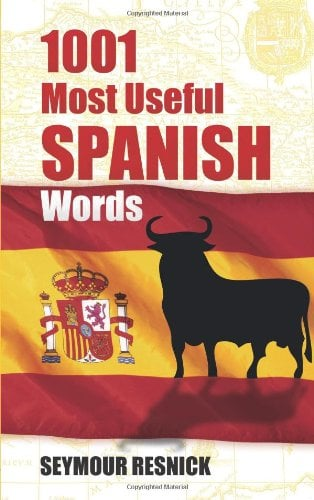 1001 Most Useful Spanish Words 9780486291130