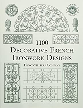 1100 Decorative French Ironwork Designs 9780486412238