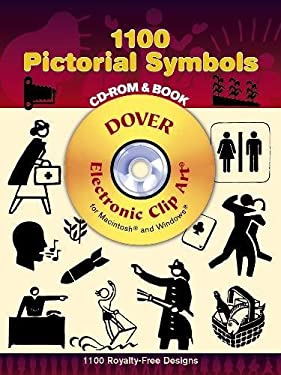 1100 Pictorial Symbols [With CDROM] 9780486998268