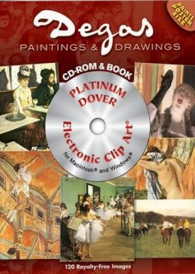 120 Degas Paintings and Drawings [With DVD] 9780486997780
