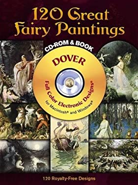 120 Great Fairy Paintings [With CDROM] 9780486997414