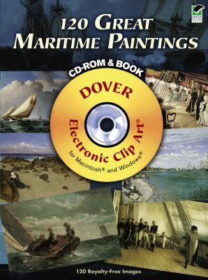 120 Great Maritime Paintings [With CDROM] 9780486990378