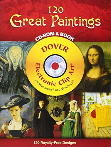 120 Great Paintings [With CD-ROM] 9780486996776