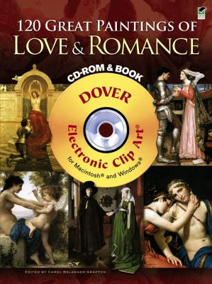 120 Great Paintings of Love & Romance [With CDROM] 9780486990392