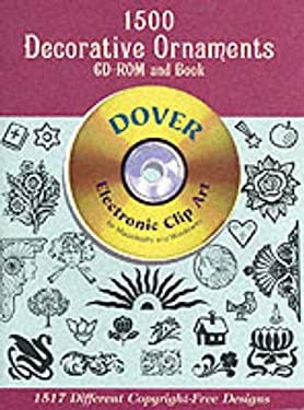 1500 Decorative Ornaments CD-ROM and Book [With CDROM] 9780486999807