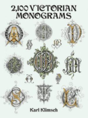 2,100 Victorian Monograms 9780486283012