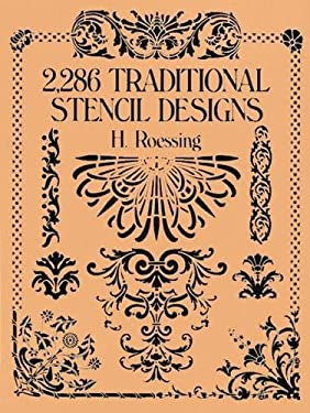 2,286 Traditional Stencil Designs 9780486268453