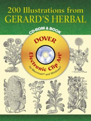 200 Illustrations from Gerard's Herbal [With CD-ROM] 9780486996585