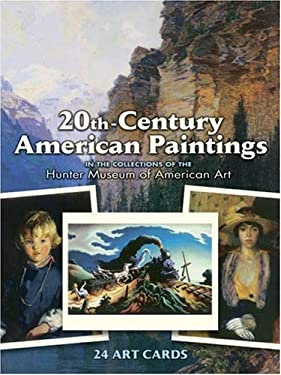 20th-Century American Paintings: 24 Art Cards 9780486410623