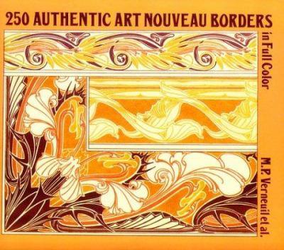 250 Authentic Art Nouveau Borders in Full Color 9780486264615