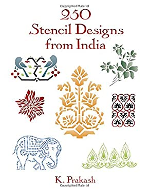 250 Stencil Designs from India 9780486290263
