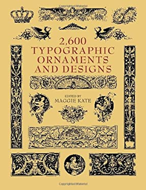 2600 Typographic Ornaments and Designs 9780486417981