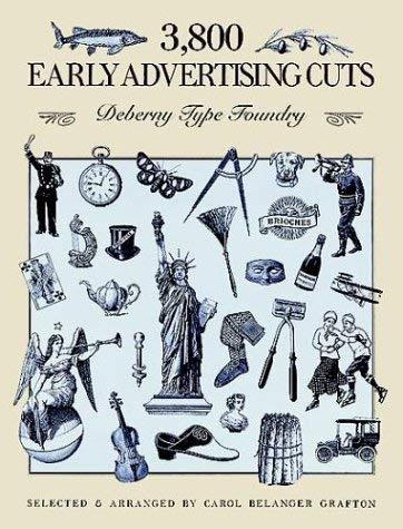 3,800 Early Advertising Cuts 9780486266589