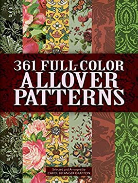 361 Full-Color Allover Patterns for Artists and Craftspeople 9780486402680
