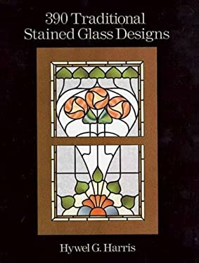 390 Traditional Stained Glass Designs 9780486289649