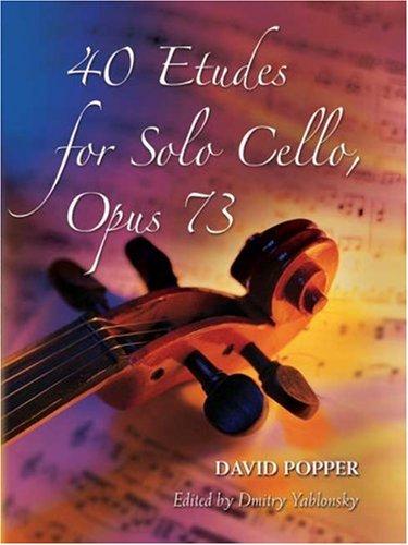 40 Etudes for Solo Cello, Op. 73 9780486457369
